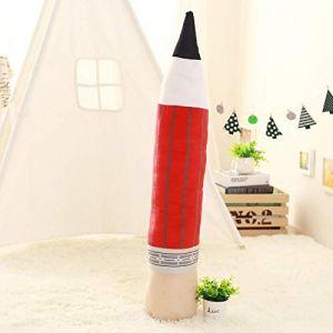 Peluche personnalité créative crayon oreiller coussin poupée poupée fille cadeau-Crayon-rouge_85 cm (lizhaowei531045832, neuf)