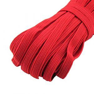 dljztrade Corde De Bande élastique De 33 Mètres Pour La Couture De Bracelet De Collier De Cahier De Bricolage rouge (dljztrade, neuf)