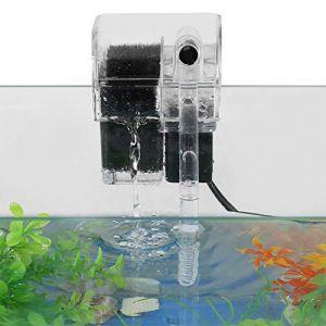 SOULONG Filtre Externe pour Aquarium 220V 50Hz Réservoir de Poissons Eau de Circulation Pompe à Eau Aquarium Filtre Cascade Oxygène Suspendu pour Aquarium (Luolayo, neuf)