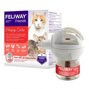 Feliway Friends - Phéromones pour Chat - Kit de démarrage (Petgamma CV, neuf)