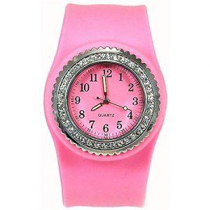 SS.COM SW050PinkÂ–Montre bracelet pour femme, bracelet en siliconeÂ–Rose (Bijoux Luxe, neuf)