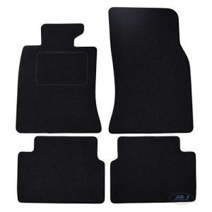 J&J AUTOMOTIVE   Tapis de Sol Noir Velours Compatible avec BMW Mini Cooper 2006-2010 4 pcs (J&J AUTOMOTIVE, neuf)