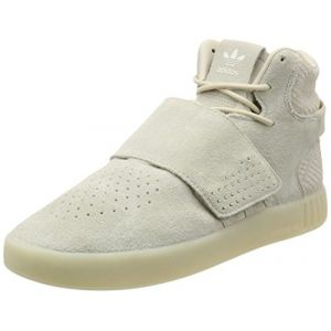 Adidas - BB8943 - Tubular Invader Strap - Baskets pour hommes - Chaussures montantes - Beige Clair - Taille: 42 2/3 (FeetClick, neuf)