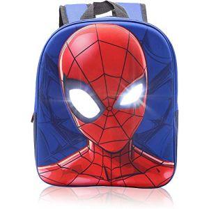 Sac à Dos Garcon Primaire Spiderman Cartables Garçon Marvel Enfant École 3D Vacances (F &F Stores, neuf)