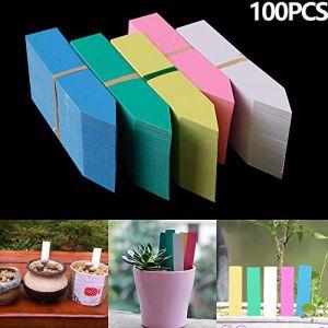 Babettew 100 PCS Mini Étanche Serre Graines Pépinière Pot Semis Tags Plantes Étiquette Outils De Jardin (Babettew, neuf)