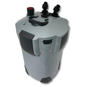 SunSun HW-403B Aquarium Bio Filtre extérieur 1400l/h avec 9W CUV 3-Phases Matériaux et Pompe (WilTec Wildanger Technik GmbH, neuf)