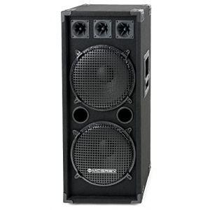 McGrey DJ-2222 Enceintes de Basement Party/DJ 1000W (Maison de la musique Kirstein, neuf)