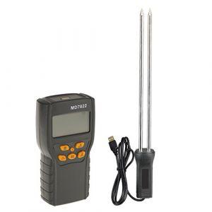 MagiDeal MD7822 LCD Humidimètre Numérique de Riz Grain Blé Maïs Testeur d'Humidité Graineterie (Passionné Capricorne, neuf)
