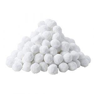 MVPower Balles Filtrantes, Boules de Filtre de Piscine 700g, Alternative pour 25kg de Sable filtrant, Filtre pour Piscine, Adaptent à tous les filtres à sable ou verre existants, Bon Effet de Filtre (Ludosports, neuf)