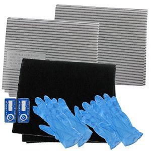 Spares2go hotte Carbone Graisse filtre kit complet pour FAGOR complet de cuisine Extracteur d'air Grille d'aération (SPARES-2-GO, neuf)