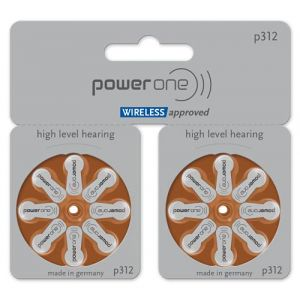 Varta Power One 312MF Lot de 80 Piles auditives Big Comfort (auditas Hörgerätebatterien und mehr, neuf)