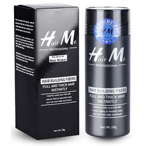 Poudre Cheveux,Poudre Densifiante Poudre Volume Cheveux Chatain Calvitie Homme Hair Building Fibers?Brun moyen? (LILIOOY, neuf)