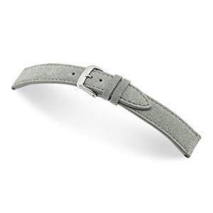 RIOS1931 Franklin 20mm Vintage Suede Leather Bracelet de Montre Fait Main en Allemagne Classique Marron Foncé (Sammlerparadies, neuf)