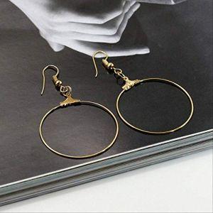 Bijoux pour femmesBoucles d'oreilles géométriques de style punk Boucles d'oreilles pour femmes Boucles d'oreilles Boucles d'oreilles simples Bijoux d'oreille16 (Graceguoer, neuf)
