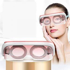 Masseur oculaire de charge USB, Soulager la fatigue oculaire, Compresseur chaud de température constante Compresseur for les yeux beauté Phototherapy, Instrument de protection des yeux Spectrum Photon (DuoBaiHuoDian, neuf)