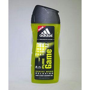 3x Adidas on 2en 1Pure Game–Cheveux & Gel Douche–250ml (IwonaTEC, neuf)