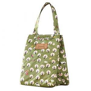 Serria Sac à Lunch Sac Repas Isotherme Fourr-Tout Lunch Bag Portable - Sac Fraicheur pour Déjeuner/Pique-Nique/Enfant/Travail/Fille/Picnic/École/Femmes (Serria, neuf)