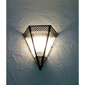 Applique murale marocaine lustre lanterne lampe éclairage de mur (Lumière et déco d'Orient, neuf)