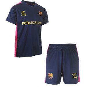 Fc Barcelone Maillot + Short Barca - Collection Officielle Taille Enfant garçon 10 Ans (MISTERLOWCOST, neuf)