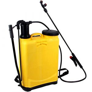 MUPAI Pulvérisateur à Dos, monotube, 2 Buses de pulvérisation, idéal pour désherbant, pesticides, herbicides, insecticides, fongicides, 46,8 x 33 x 17,5 cm (MUPAI, neuf)