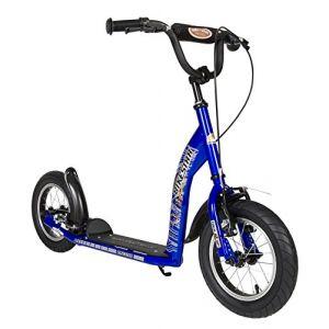 Bikestar Trottinette Enfant 2 Roues pour Garcons et Filles de 6-10 Ans ? Patinette Enfant 12 Pouces Sportif ? Bleu (Star-Trademarks-Shop, neuf)