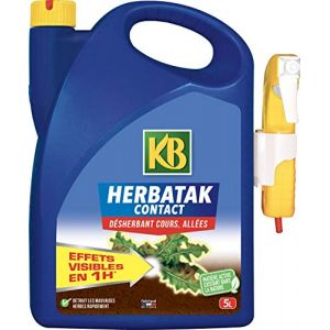 KB Désherbant Herbatak Contact, 5L (Toututile, neuf)