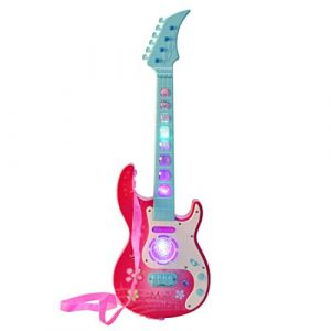 DYFO 4 Cordes Guitare Enfant Guitare Electrique Instruments éducatifs Jouet Idéal pour d'enfants Débutant-909B (GRANADA CONSULTING LIMITED, neuf)