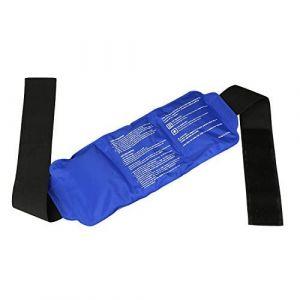 LEADSTAR Poche de Gel Réutilisable Gel à Glace à Froid Chaud avec Emballage Réglable pour Soulagement Douleur et Blessure Sportive (LEADSTAR EU, neuf)