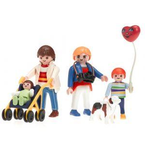 Playmobil - 3209 - La Maison Moderne - Famille / Poussette (OverWatch, neuf)