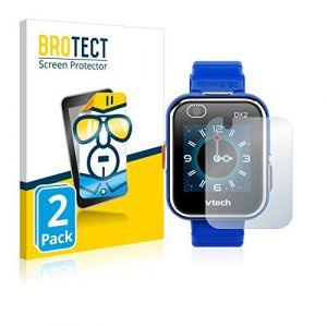 BROTECT Protection Ecran Compatible avec Vtech Kidizoom Smart Watch DX2 [2 Pièces] - Utra Clair (protectionfilms24 France, neuf)