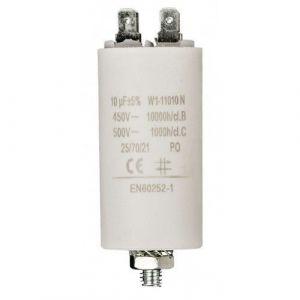 Cablepelado Condensateur de démarrage pour moteur électrique 10.0UF 450VAC (CABLEPELADO, neuf)