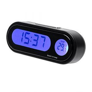 iTimo Thermomètre numérique 2en 1avec horloge pour décoration intérieure de la voiture (Itimo, neuf)