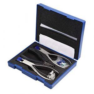 Ensemble de pinces à lunettes, Kit de pinces à lunettes professionnelles Kit de démontage sans monture de lunettes (Sugoyie, neuf)