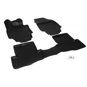 J&J AUTOMOTIVE | 3D Exclusive Tapis DE Sol en Caoutchouc Compatible avec Renault CAPTUR 2014 -prés (J&J AUTOMOTIVE, neuf)