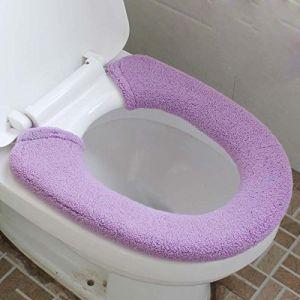 MZP De plus des toilettes de velours épais fixe type commun pot argent pièce fixe le tapis de pot siège de toilette 2 équipée , ?? (ZhongPing Miao, neuf)