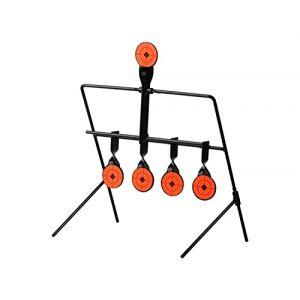 ARSUK BB Airsoft Cible de tir, Papier, Support métal, Chasse Support métalAuto Réinitialiser Spinning Accessoires pour Sport Pratique entraînement en Plein air (Cible Swinging) (arsuk, neuf)