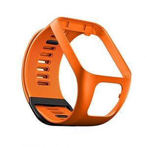 Bracelet de Montre en Silicone pour Tom Tom Runner 2/3 Bracelet de Étanche et Sport pour Tomtom Golfer 4 Adventurer (YVYV-FR, neuf)