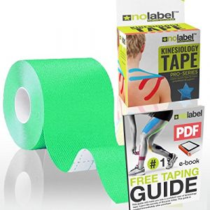 Bande de kinésiologie Vert - Kinesiology Tape Bandes Sport Strapping Soutien Musculaire (NoLabel, neuf)