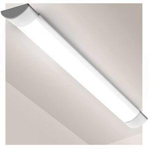 PingoGou Réglette LED 120cm, 40W Tube LED 4800LM, Plafonnier de Bureau 220V Blanc Froid 6000K, LED Tube Light pour Bureau, Garage,Atelier,Chambre, Salon, Salle de bain, Cuisine (jinjiangquwenhaijisuanjiruanjiankaifagongzuoshi, neuf)