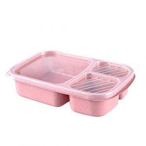 Portable Pliant Micro-ondes Bento Boîte À Lunch Pique-Nique Alimentaire Fruits Conteneur Boîte De Rangement Pour Enfants Adulte Sac À Lunch (FOOD HINK, neuf)
