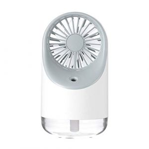 Serria Mini Brumisateur Portable Vaporisateur USB Portable Humidificateur Ventilateur De Table Fine Brumisateur Pulvérisateur Ventilateur De Bureau Mister Eau Ventilateur Personnel De Refroidissement (Serria, neuf)