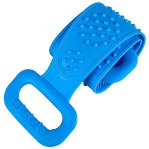 YIDIANIDAN Silicone dos épurateur serviette de bain douce ceinture de bain corps exfoliant Massage pour douche corps nettoyage salle de bain douche sangle (SUZHAOYANGshop, neuf)