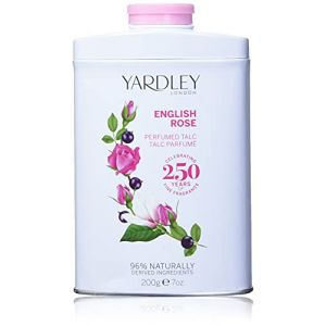 Yardley - English Rose - Talc parfumé à la rose - 200 g (VitaPoint, neuf)