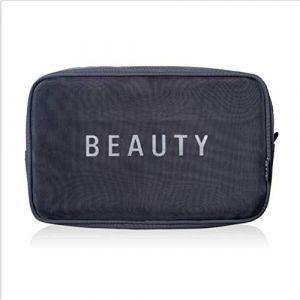 Multi-fonction voyage sac cosmétique grande capacité transparente portable imperméable sac à cosmétiques pour homme/femme,3 (AND DOG, neuf)