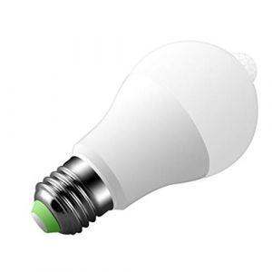 Housse de coussinE27 LED PIR Motion Sensor Infrarouge Auto Économie D'énergie Lampe Ampoule LED lumière (FOOD HINK, neuf)