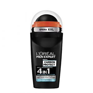 L'Oréal Paris Men Expert Déodorant Homme Roll On anti-traspirante Carbon Protect (Flaviajewellwey, neuf)