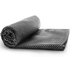 Tapis antidérapant - tapis antidérapant de bagages de toit - tapis de protection coffre - tapis de sol pour voiture, dimension universel 100cm x 90cm, noir (QuidA, neuf)