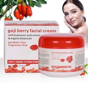 Aesy Goji Berry Crème, Crème éclaircissante pour le Visage, Lotion Moisture Dark Skin White Enhanced, Retirer Cercle Noir Crème (accessygg, neuf)