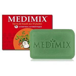 MEDIMIX SAVON AYURVEDIQUE - Medimix Savon Ayurvédique Glycérine aux 18 Herbes - Lot de 3 x125 GRS (SELARL PHARMACIE THIERS - DOCTEUR ANNE AUBRY, neuf)