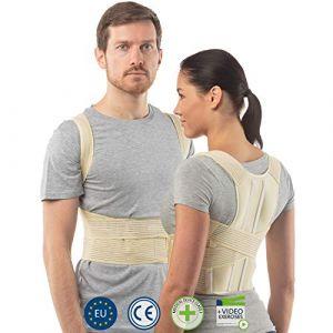 aHeal - Correcteur De Posture Pour Homme et Femme - Corset De Soutien - Maintien Du Dos - Posture Support - Pour la Colonne Mertébrale Moyenne et Inférieure -Super Confort - Qualité Européenne-[Taille 2] (aHeal, neuf)